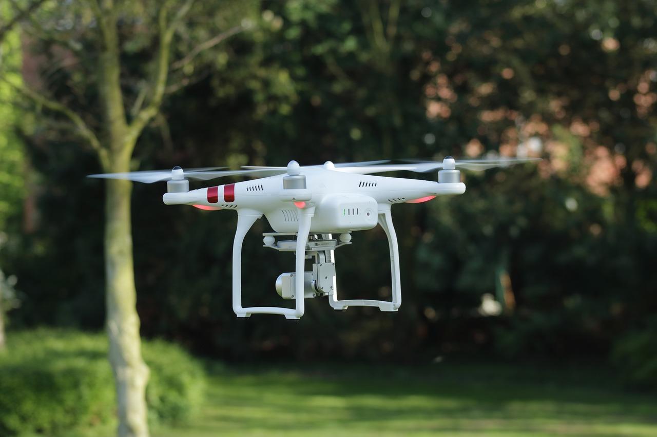El uso de drones por parte de los detectives